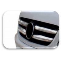 Накладка на радиатор - Mercedes Sprinter 515 новый кузов