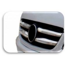 Накладка на радиатор - Mercedes Sprinter / Volkswagen Crafter новый кузов