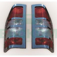Накладка на задние стопы - Mercedes Sprinter / Volkswagen Crafter