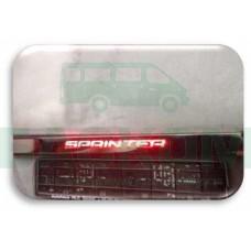 Накладка на задний номер с надписью - Mercedes Sprinter / Volkswagen Crafter