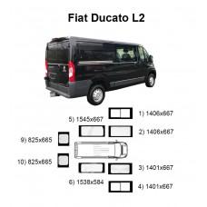 Стекла на Fiat Ducato L2