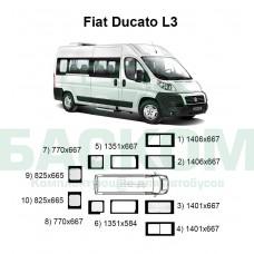 Стекла на Fiat Ducato L3