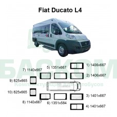Стекла на Fiat Ducato L4