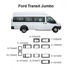 Стекла на Ford Transit Jumbo